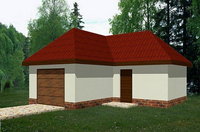 Проект гаража-150