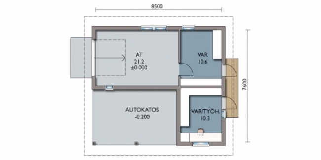 Проект гаража-155