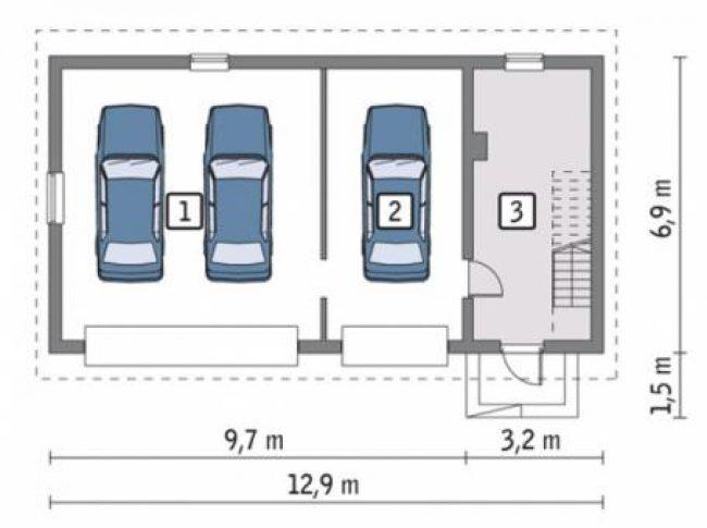 Проект гаража-191