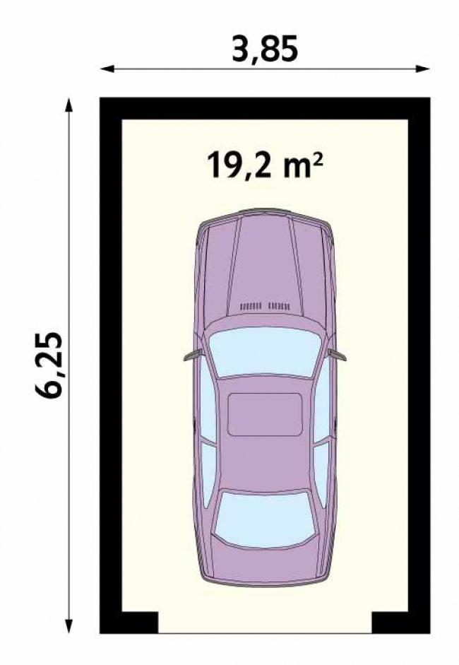 Проект гаража-21