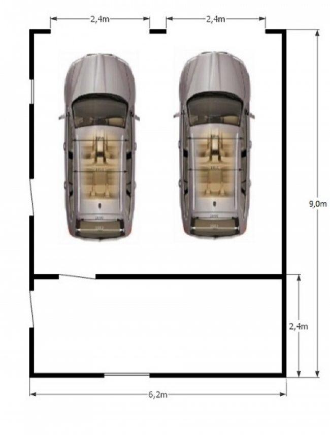 Проект гаража-121