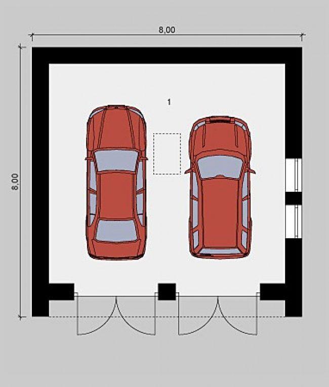Проект гаража-198