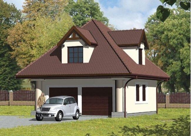 Проект гаража-214