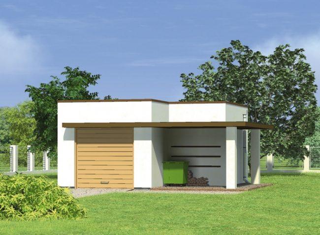 Проект гаража-152