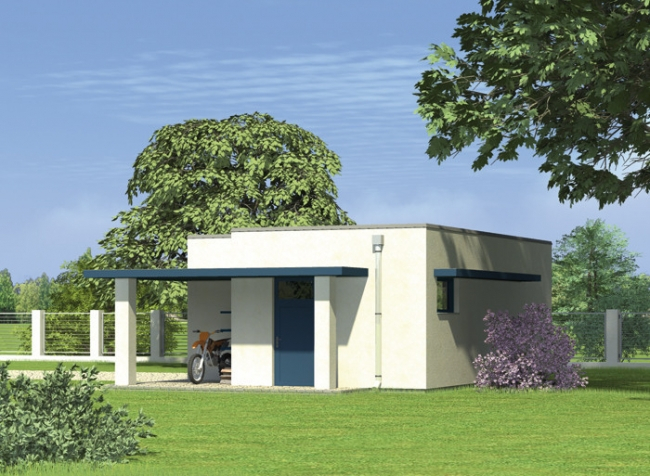 Проект гаража-184