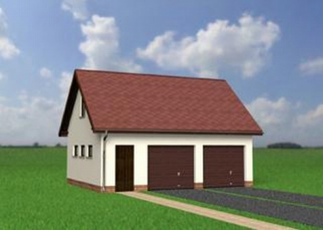 Проект гаража-102