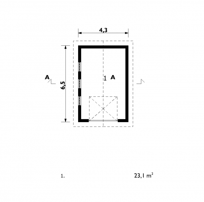 Проект гаража-20