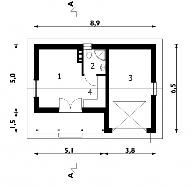 Проект гаража-113