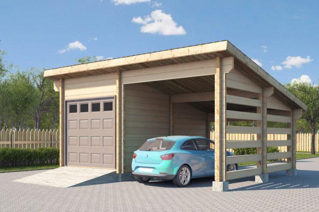 Проект гаража-53
