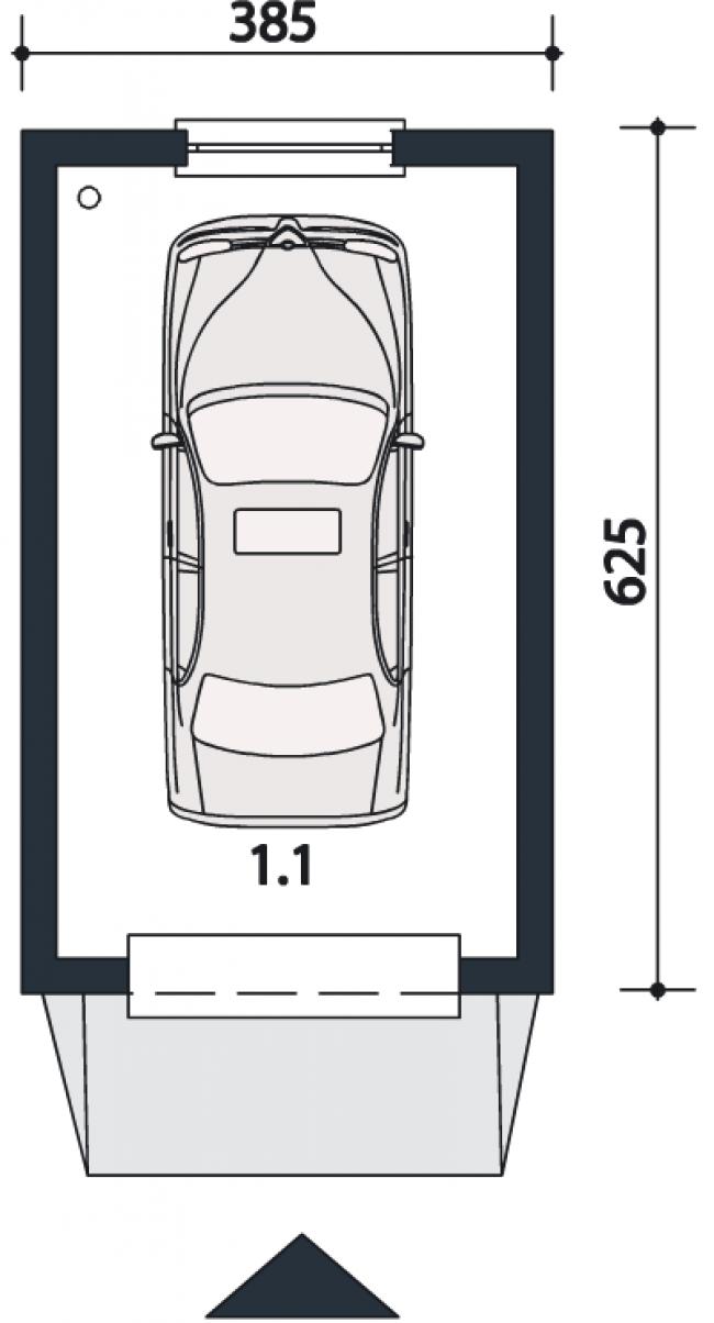 Проект гаража-23
