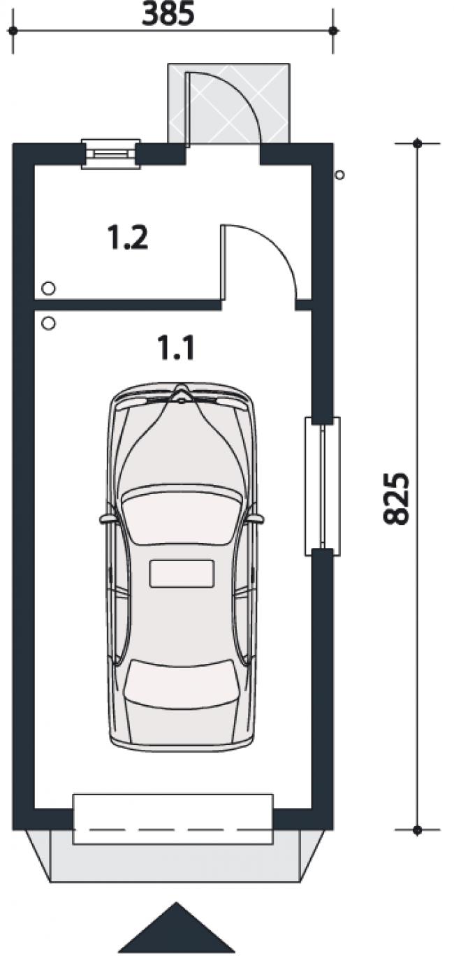 Проект гаража-41
