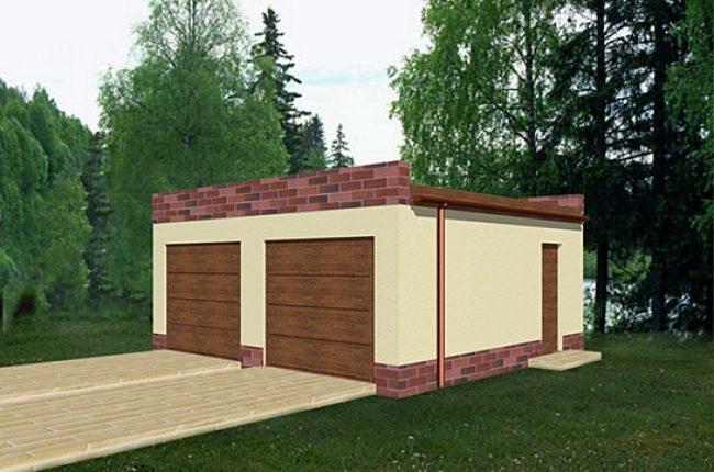 Проект гаража-83