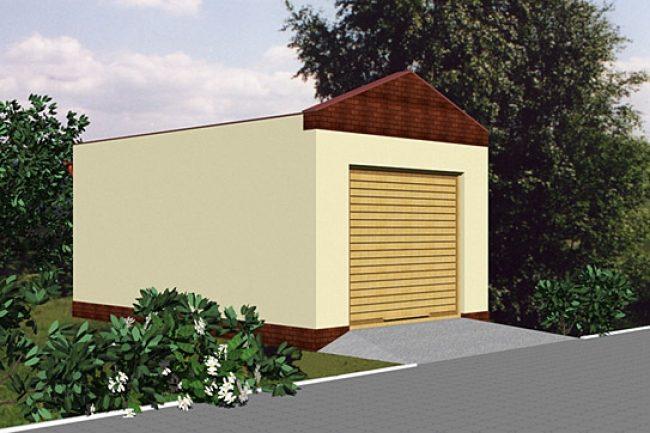 Проект гаража-25