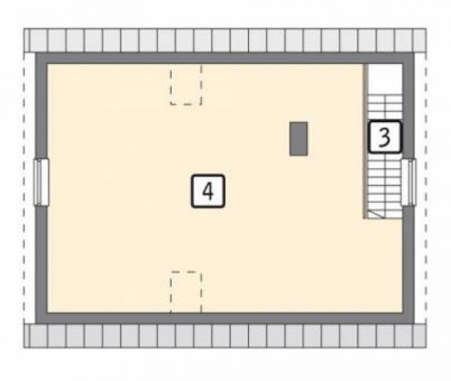 Проект гаража-182