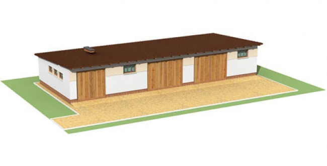 Проект гаража-232