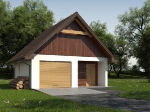Проект гаража-146