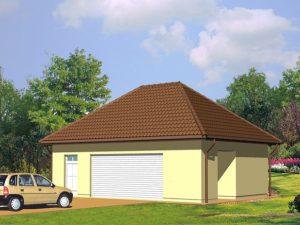 Проект гаража-180