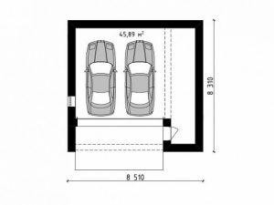 Проект гаража-199