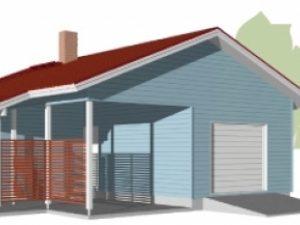 Проект гаража-196