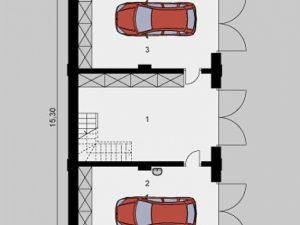 Проект гаража-241