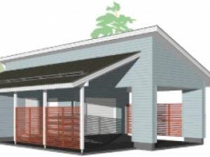Проект гаража-185