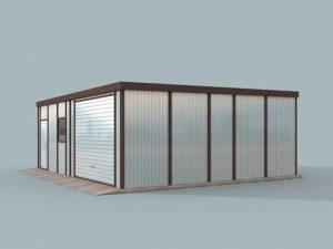 Проект гаража-163