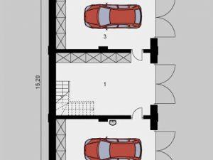 Проект гаража-240