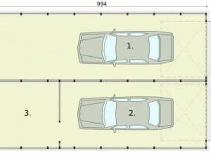 Проект гаража-132