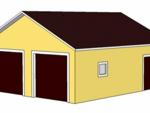 Проект гаража-162