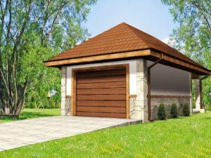 Проект гаража-40