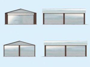 Проект гаража-89