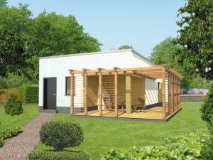 Проект гаража-141