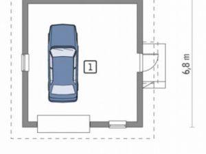 Проект гаража-95