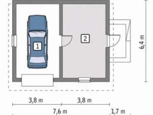 Проект гаража-94