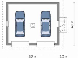 Проект гаража-159