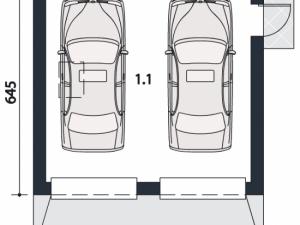 Проект гаража-85