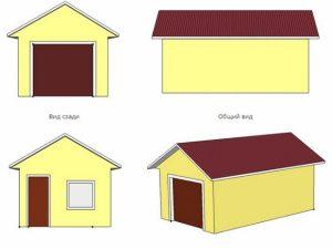 Проект гаража-30