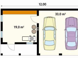 Проект гаража-134