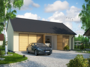 Проект гаража-221