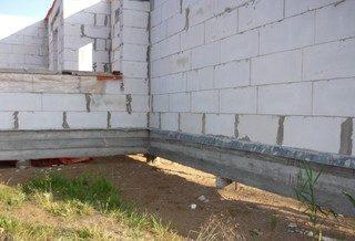 Картинки по запросу фундамент для дома из газобетона